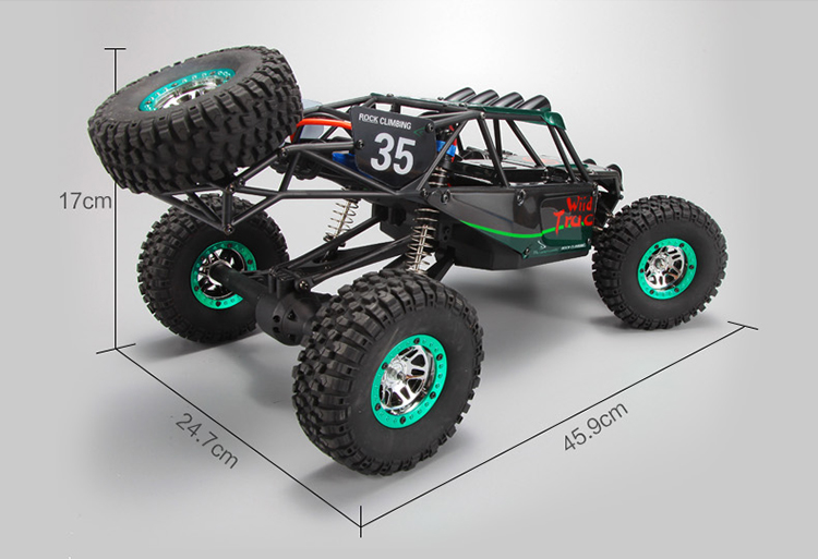 Original WLtoys K949 1/10 2.4Ghz RC Remote Control Truck Dirt Drift Car 4WD RC Climbing Short Course RTR цена