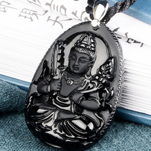 Belwide Crocs void Tibet Obsidian pendant eight Guardian ox tiger natal Buddha k
