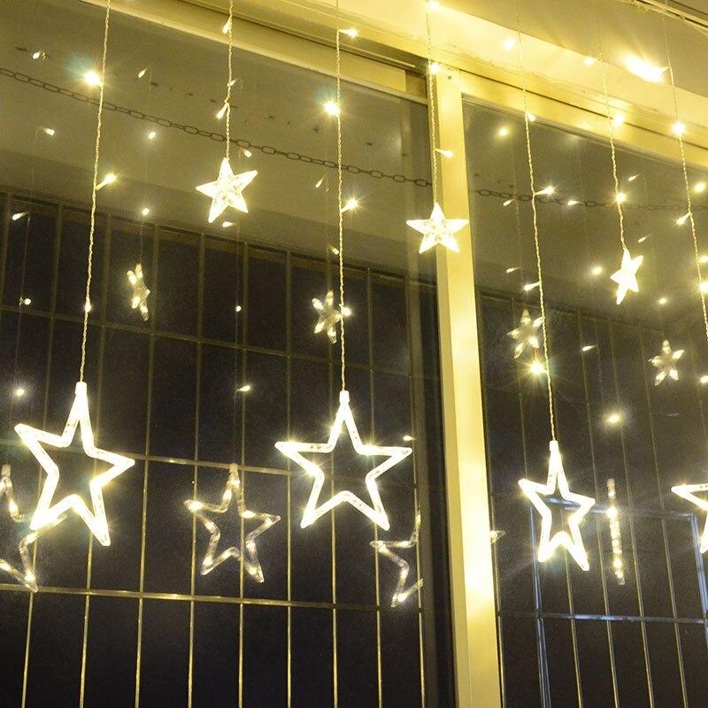String lights Christmas outdoor decoration Indoor 2m Droop 0.3-0.5m curtain icicle string led lights Garden Party 110 220V 2 5m 10leds ghost led string lights halloween decoration