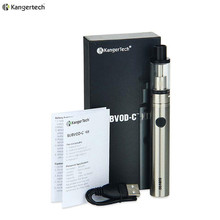 100% Original Kanger Subvod-C Starter Kit with 2.8ml Liquid Capacity and 1300mah Capacity