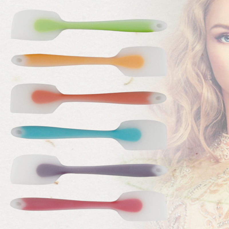 1pcs Dyeing Brush Oil Comb Silicone Hair Tools Hair Dye Color Board