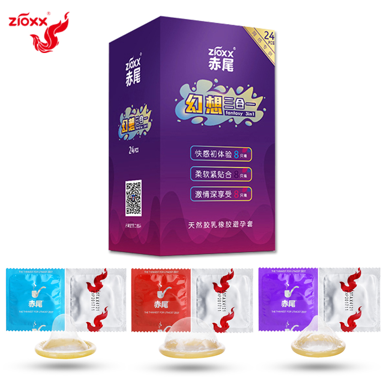ZIOXX condoms Ultra thin sensation penis sleeve natural latex extra lubricated condoms for men intimate goods sex toy in Condoms from Beauty Health