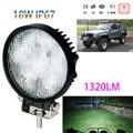 IP67 18W 6LED Spotlight Spot light Work Light Lamp Bar Flood Beam Tractor Truck Bright 12-30V CE GS EMC For Moto SUV Car Boating