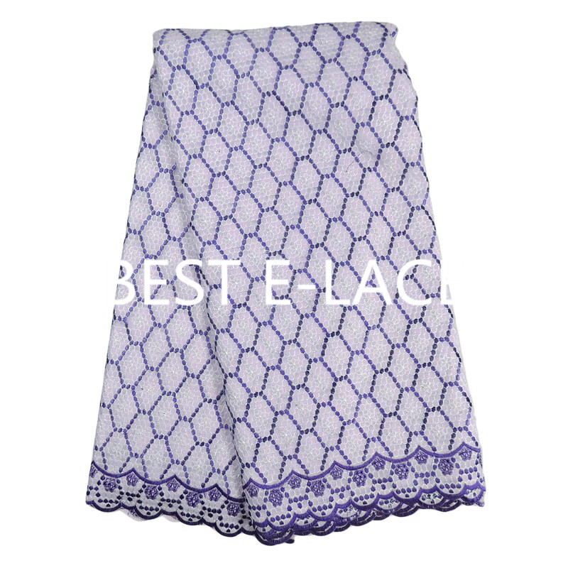 nice Best Elace African Swiss Voile Lace High Quality font b Wedding b font African blue