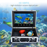 EYOYO WF09T 930M Touch Screen Infrared 12VDC HD1000TVL Underwater Fishing Camera Fish Finder Video Ocean River Sea Boat Fishing