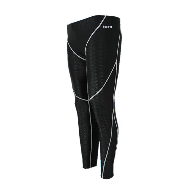 New Bathing Suits Professional Swimming Pants Men Swimwear Long Swimming Trunks Man Swimsuit Men's Tights Beach Sport Swim Wear