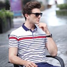 2017 Summer New men's Polo Shirt Designer Fashion Striped High Quality Plus Size Business Casual Polo Shirt Men M~3XL C15E1747