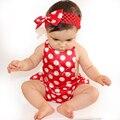 Satén floral body bebé clothing fresco de los bebés originales bloomer conjunto traje de cuerpo estilo jumpsuit verano