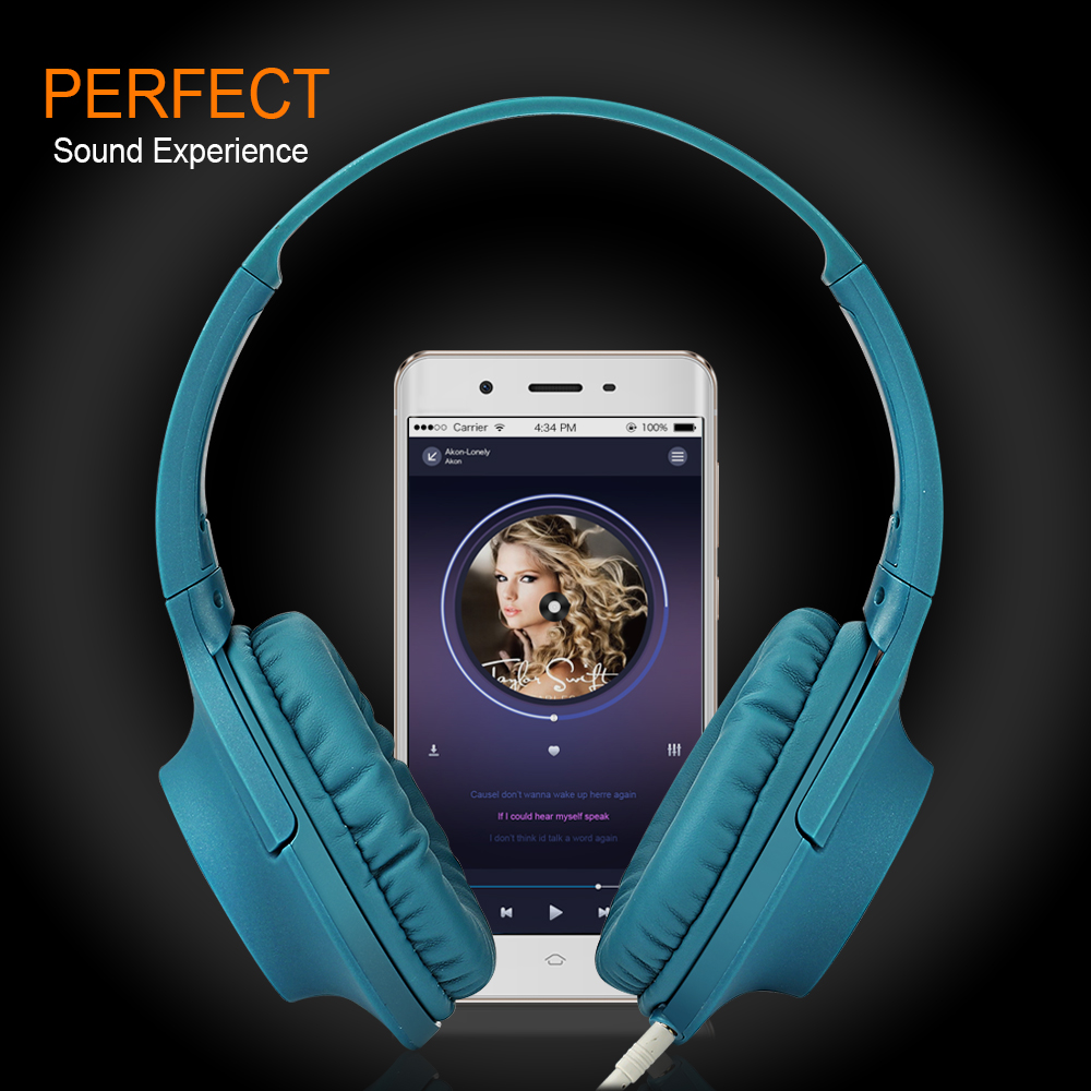 Original mm Wired Headphone headphones Gaming Headset Music Earphone For PC Laptop Computer Mobile Phone