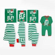 цена Family Christmas Pajamas Set Striped Pyjamas Set Family Look Matching Family Christmas Pajamas Navidad Family Matching Clothes в интернет-магазинах