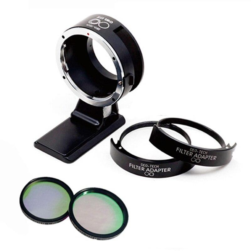 Sony EOS-NEX Adapter to EF-NEX Adapter with drop-in filter(set) viltrox ef nex ii canon ef lens to sony full frame nex cameras nex 3n nex 6 nex 7 a6000 nex 5 5n 5r 5t sony a7 a7r a7m2 adapter
