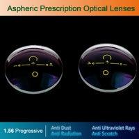 1.56 Digital Free form Progressive Aspheric Optical Eyeglasses Prescription Lenses