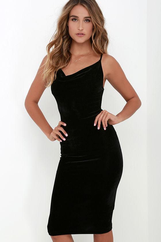 HTB1kuK4KVXXXXcfXpXXq6xXFXXXO - FREE SHIPPING Sexy Velvet Dress JKP207