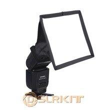 DSLRKIT Портативный 15x17 см Рассеиватель Вспышки Мини вспышка софтбокс для Canon Nikon Pentax sony