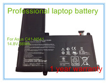 Original Laptop Battery for Q501L Q501LA Q501LA-BBI5T03 C41-N541 N54PNC3 14.8V 66WH Free Shipping