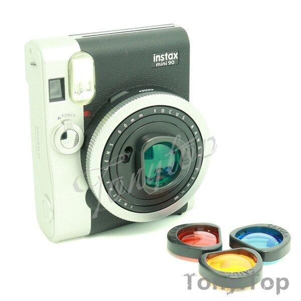 Fujifilm Instax Mini 90 Instantanée Caméra Accessoire Bundles Set adapté  pour les utilisateurs de Fujifilm Instax Mini 90 Neo Classique Film  Instantané