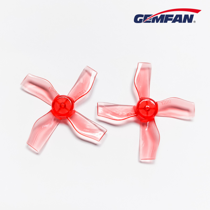 Mini FPV Propeller <font><b>1220</b></font> PC 4-blade Propeller CW CCW 8 Pairs for Coreless 0703-1103 <font><b>Motor</b></font> Tiny whoops Gemfan image