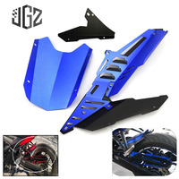 For Yamaha YZF R3 R25 MT03 2015 2016 2017 Motorcycle CNC Aluminum Rear Fender Mudguard Chain Cover Protector Guard Accessories