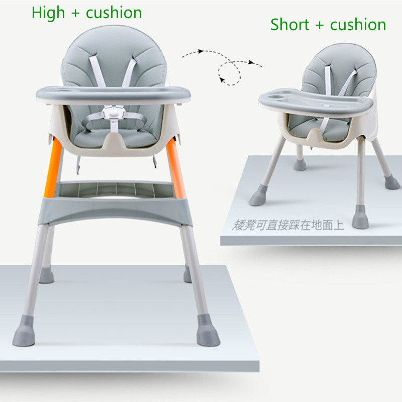 Baby Dining Chair Children Dining Chair Multifunctional Collapsible Portable Baby Chair Eating Dinette Seating Seat