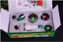 Hot Selling  Chinese Great Medical Body Healthy Care 6Cups Kit Cupping Therapy Cups FREE SHIPPING