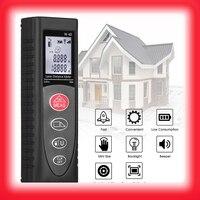 TCAM Laser range finder 40/60m electronic Distance Area Volume tape measure metro rangefinder laser Digital Laser Distance Meter