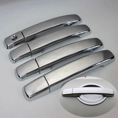 New ABS Chrome Door Handle Covers Trim for Nissan Sentra 2007-2011 Nissan Maxima 2004-2008 Nissan Quest 2005-2009 Exterior Accessories