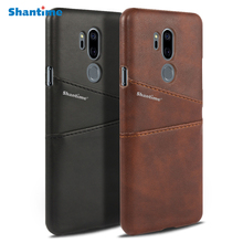 Luxury Pu Leather Wallet Case For LG G7 ThinQ Phone Bag Case For LG G7 ThinQ Business Card Slots Case цена и фото