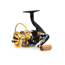 New Top quanlity  5.5:1 Ratio 12BB Spinning Fishing Reel Carp Ice Fishing Gear Casting pole rock wheel