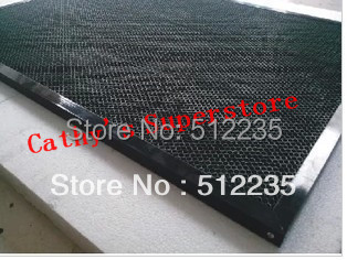 ФОТО 30*20cm aluminum honeycomb table honeycomb platform  laser machine  parts special honeycomb fabric cutting machine platform