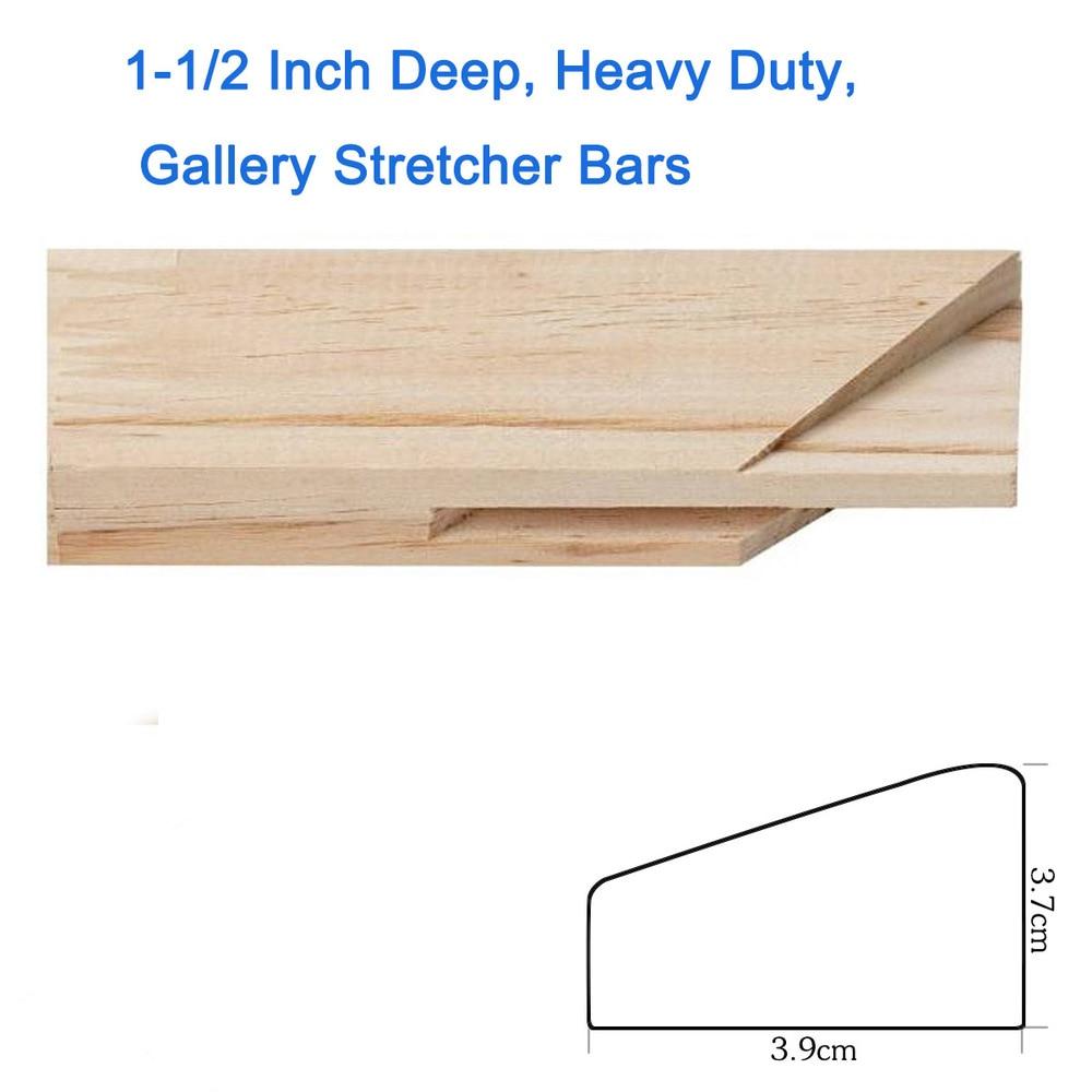 1,6 cm Tief, Schwere, galerie Keilrahmen, bahre Streifen 30 cm holz ...