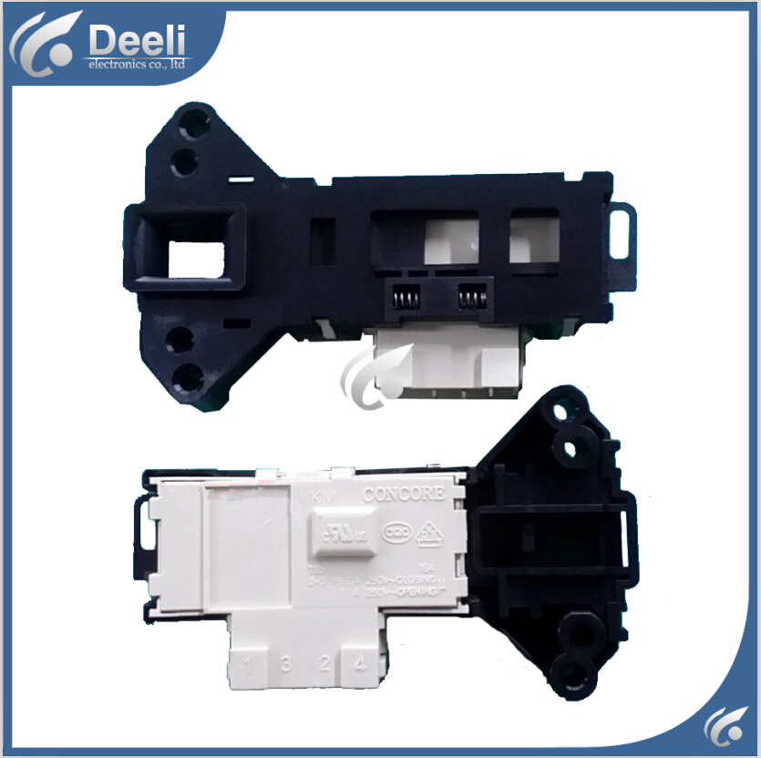 Original 95% new used for Glanz Washing Machine Blade Electronic door lock delay switch original new for lg drum washing machine door hinge 42741701 1pcs