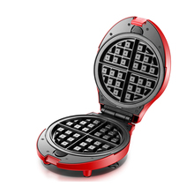 Home DIY Electric Baking Pan Waffle Maker Multi-function Egg Roll Cake Muffin Electric Waffle Maker Egg Machine with 7pcs mold цена и фото