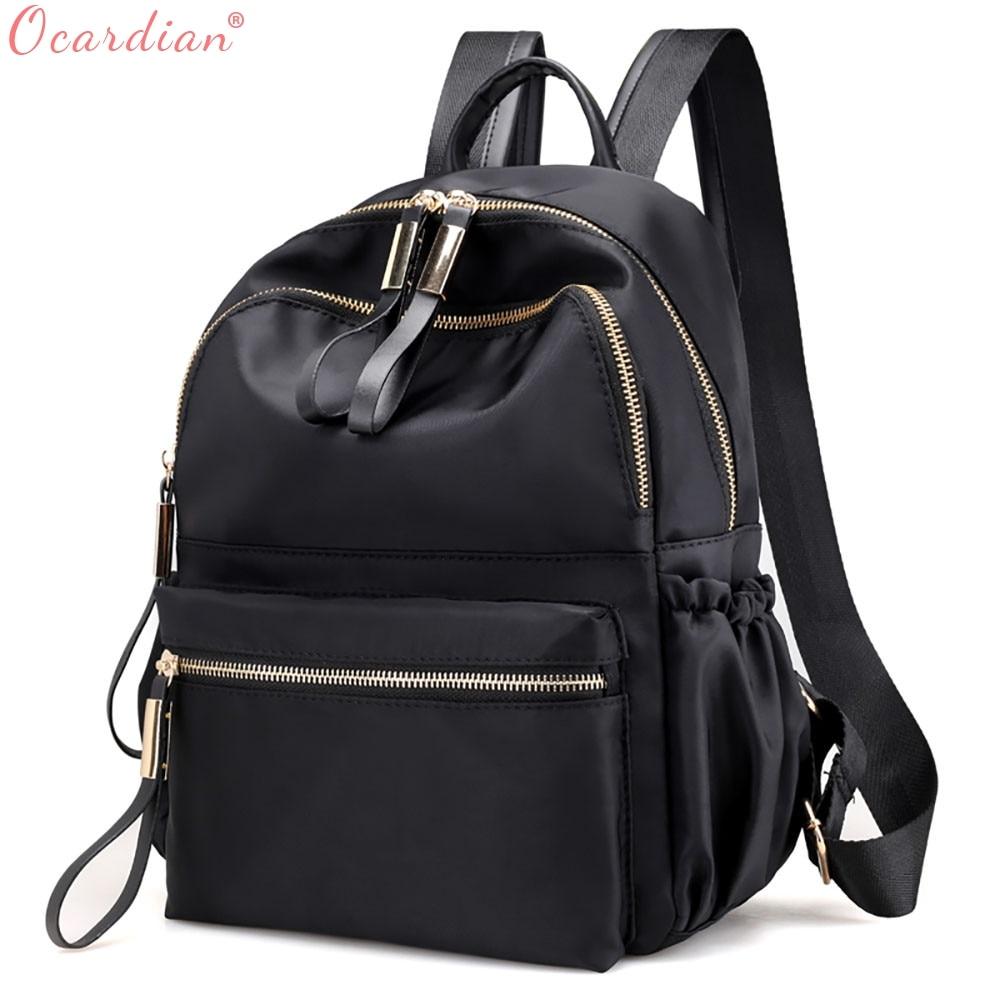 Ocardian Backpacks Leisure Oxford Backpack Women Backpack Female For School In Korean Style Backpack Female Jl 17 #1