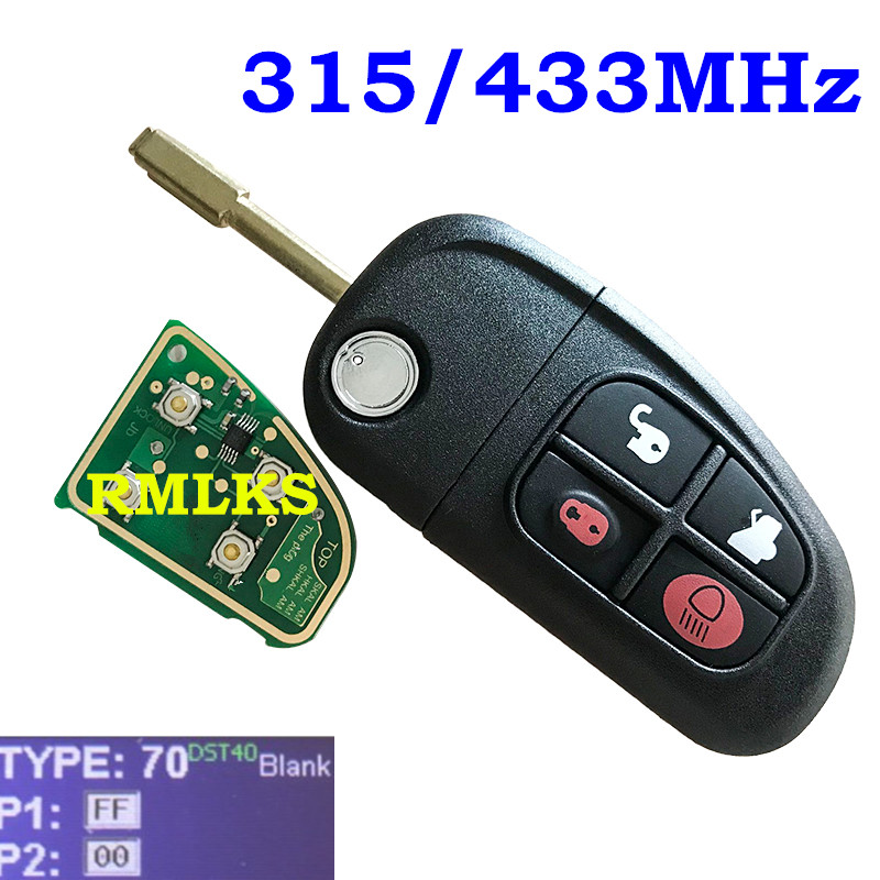 Replacement For 2001 2002 2003 2004 Jaguar S-Type S Type Key Fob Case Shell