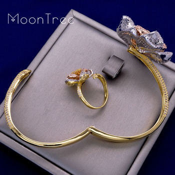 MoonTree Ring Bangle Set