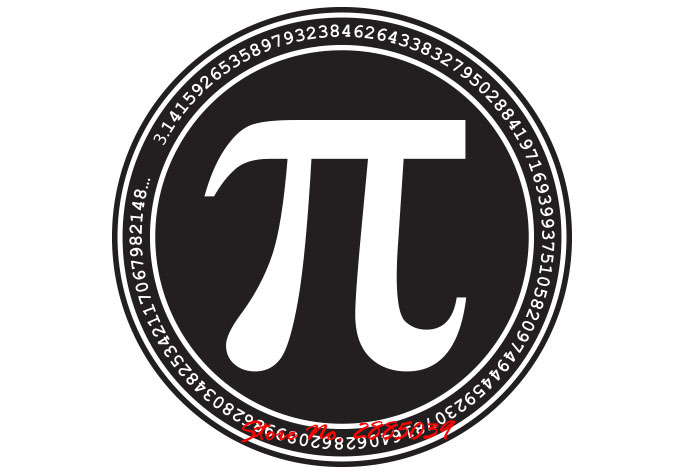 Pi Math Lovers Mathematics Symbol Quotes Vinyl Wall Sticker Art