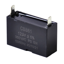 DWCX CBB61 12uF Small Gasoline Generator Capacitor 350V AC 50 / 60HZ for Ceiling Fans Motors Pump Equipment Start-up