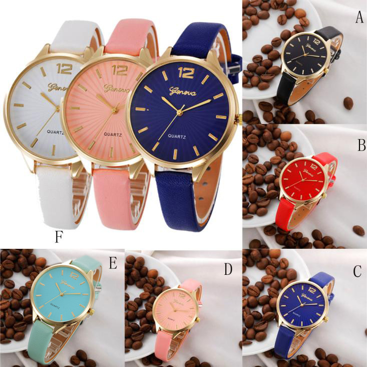 2018 Hot Sale Saat Clock Watch Women brand Fashion dress ladies Watch Leather Stainless women Steel Analog Luxury Wrist Watch