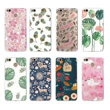 Soft TPU Phone Case Fashion Vintage Floral Rose Flower Fundas For xiaomi redmi 6 5s 5x 6x note3 mi8 4x 4a 3s note4x note5a c033(China)