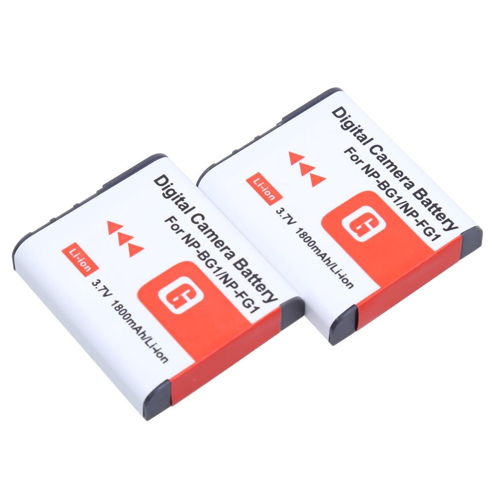 Stromquelle Effizient Jhtc Batterien Für Sony Np Bg1 Batterie 1400 Mah Np-bg1 Für Sony Cyber-shot Dsc-h3 Dsc-h7 Dsc-h9 Dsc-h10 Dsc-h20 Dsc-h50 Dsc-h55