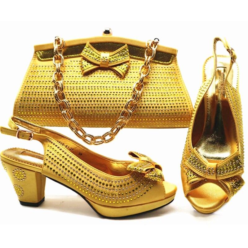 Dames Ensemble Pour Et Sacs Africain Pompes As as Chaussures Italien Femmes À Parti Correspondre Avec Nouvelles Pictures Assortis Pictures Les YwBqYzd