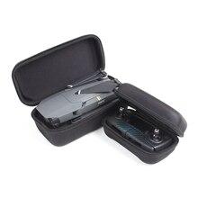 DJI Transmissor Mavic Pro 2 em 1 Portátil Durável Rígida controlador De Armazenamento Box & Zangão Corpo Bag Estojo de protecção para MAVIC