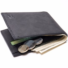 Men's Small PU Leather Wallet