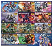 LBX Piccolo Battler esperienza figura HUNTER ELYSION JOKER PANDORA IFREET Imperatore di ACHILLE AX-00 Generale destroyer ODIN giocattolo(China)
