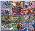 BANDAI LBX Little Battler eXperience figure HUNTER ELYSION GENERAL PANDORA Nightmare IFREET Emperor ACHILLES Perseus Inbit toy