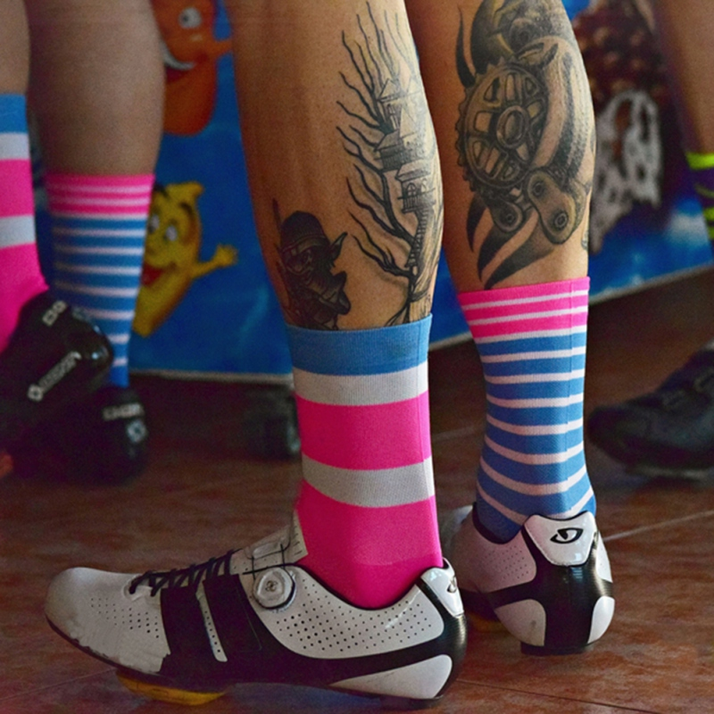 High Quality Professional Men Outdoor Cycling Socks Women Comfortable Road Bicycle Socks Racing Bike Compression