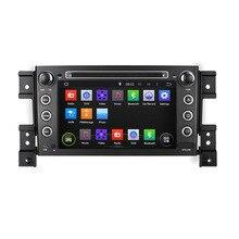 Octa/Quad Core Android 7.1/6.0/5.1 Para SUZUKI GRAND VITARA 2005-2012 2013 2014 2015 coches Reproductor de DVD de Navegación GPS Radio