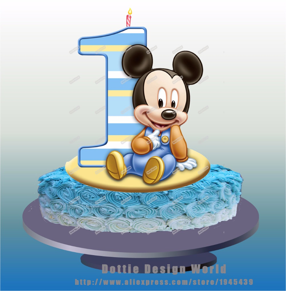 Cake Toppers Baby Mickey