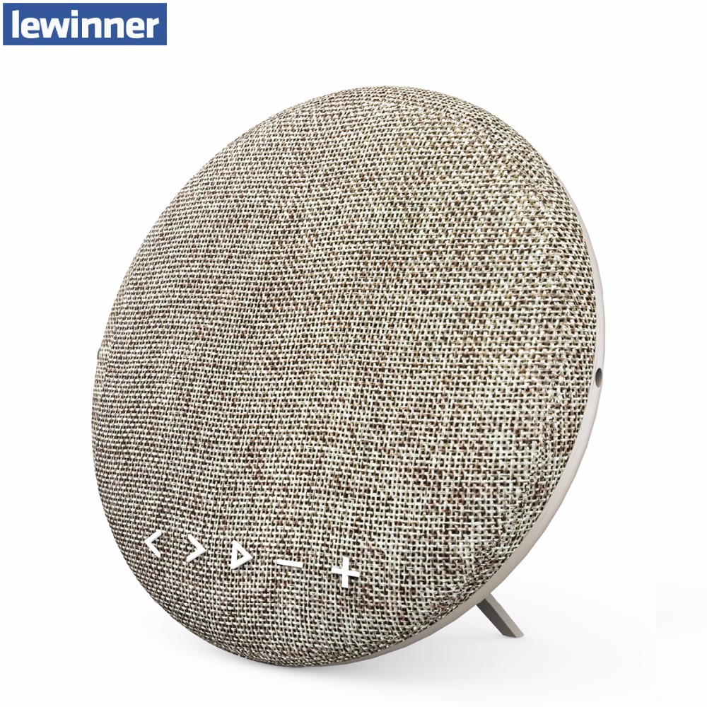 ФОТО lewinner 12W bluetooth speaker with belt portable wireless cloth cover canvas speakers column Beopla outdoor speaker