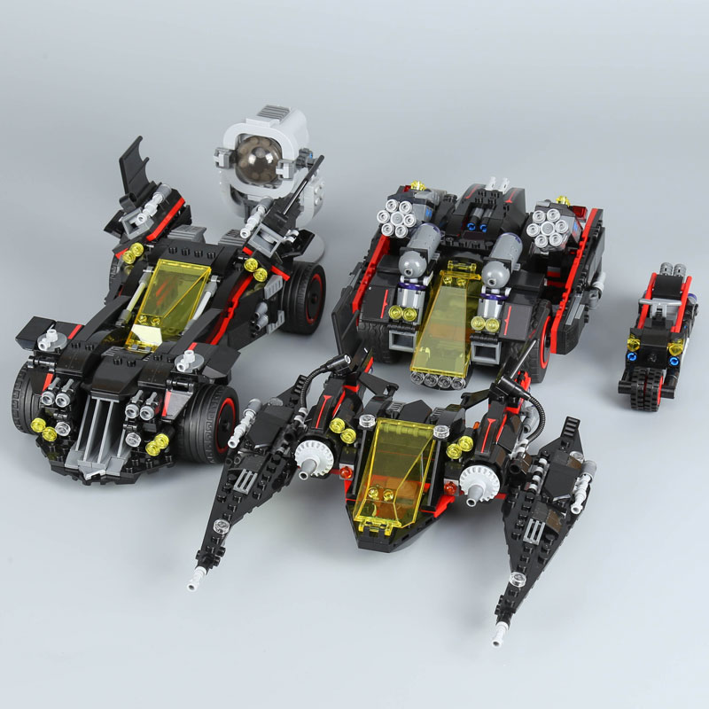 WAZ Compatible Legoe batman 70917 Lepin 07077 super heroes Ultimate Batmobile Figure building blocks bricks toys for children